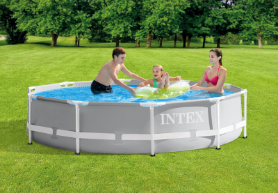 Каркасный бассейн Intex 26700NP Prism Frame Pool (305 х 76 см)
