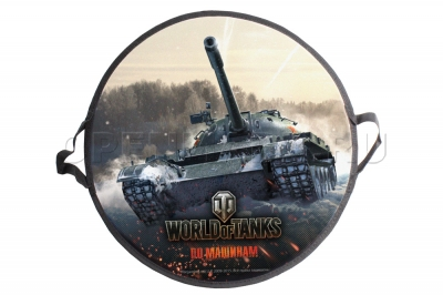 Ледянка-сэндвич 1Toy Т58480 World of Tanks, размер 52 х 1 см