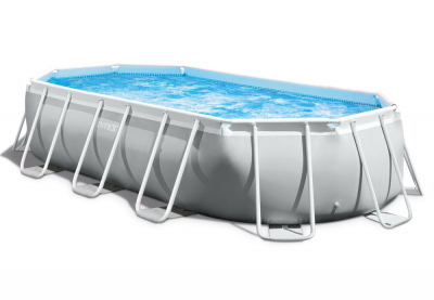 Каркасный бассейн Intex 26796WPA Oval Prism Frame Pool (503 х 274 х 122 см)