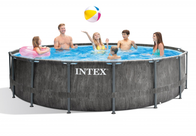 Каркасный бассейн Intex 26742WPA Greywood Prism Frame Pool (457 х 122 см)