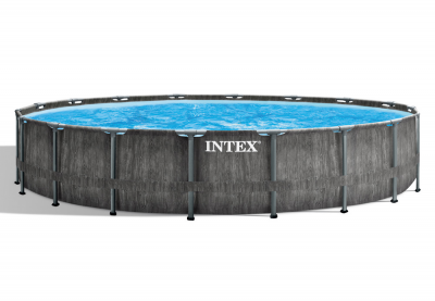 Каркасный бассейн Intex 26744WPA Greywood Prism Frame Pool (549 х 122 см)