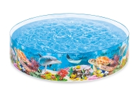 Бассейн детский Intex 58472NP Deep Blue Sea Snapset Pool (от 3 лет)