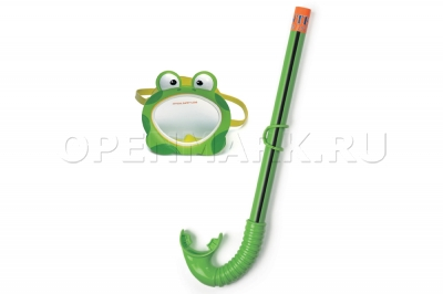 Маска и трубка для плавания Intex 55940 Froggy Fun Set (от 3 до 8 лет)