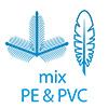 Микс: PE и мягкий ПВХ