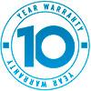 10 лет гарантии от производителя