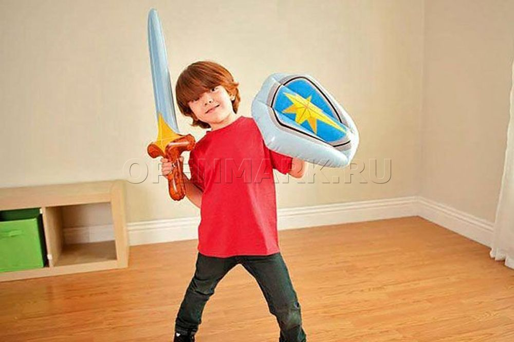 Как сделать надувной меч